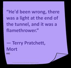 ♥ Terry Pratchett ♥ ~ #Quote #Author #Funny