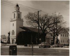 Beautiful old photo of Tulsa.  old all souls uu church!