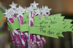 Tinkerbell Party - Pixie Dust sticks