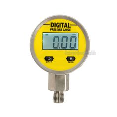 Digital Display Oil Pressure Hydraulic Gauge Pressure Test Meter 3V 0-250Bar/25Mpa NPT1/4 For Gas Water Oil Durable