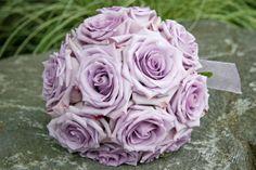 Lavender Ocean Song Rose Bouquet