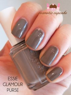 Cosmetic Cupcake: Essie Fall 2012 collection: Glamour Purse, Lady Like and Power Clutch swatches and review