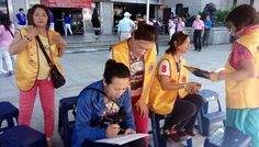 Keelung Feng Huang #LionsClub (MD 300 Taiwan) collected 297 units of blood during a blood drive