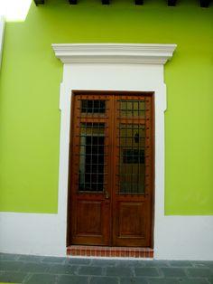 Door in Old San Juan