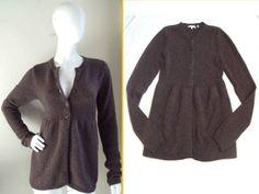 Vince Super Fem Casual Luxe Soft Wool Blend Knit Cardigan Sweater Jacket $235 S | eBay