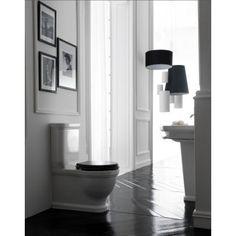 Albion Bath Company - Volda Close Coupled Toilet : Klassieke duoblok toilet.