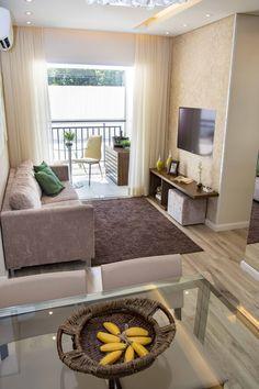 Small Apartment Interior, Small Apartment Living, Small Living Rooms, Home And Living, Home Room Design, Living Room Designs, Living Room Decor, Bedroom Decor, India Home Decor