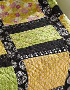 I love the all-over design and reinforces what a walking foot will do for my quilting!