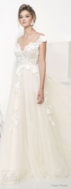 Lace wedding dress. Brides think of having the ideal wedding ceremony, however for this they need the perfect wedding gown, with the bridesmaid's outfits actually complimenting the wedding brides dress. Here are a variety of tips on wedding dresses.