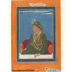 Tipu Sultan, King of Mysore @  http://ijiya.com/8236211