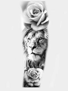 Forarm Tattoos, Boy Tattoos, Lion Tattoo Sleeves, Sleeve Tattoos, Tiger Tattoo Design, Tattoo Designs, Tattoo Sketch Art, Amazing 3d Tattoos, Hannya Tattoo