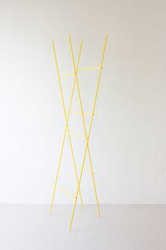 Ladder Coat Rack - Designed by Yenwen Tseng.