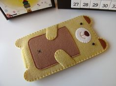 Yellow Bear iPhone / iTouch Case