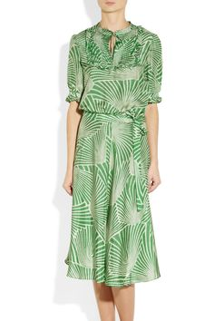 Collette by Collette Dinnigan | Printed silk dress $350