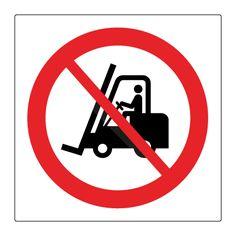 Truck kørsel forbudt - Køb forbudsskilte her