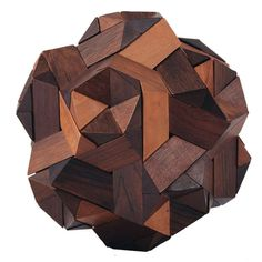 Exotic Wood Molecular Puzzle 1