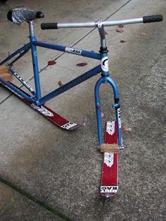 How to Make a Ski Bike | Dirt Rag Magazine