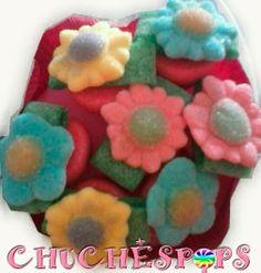 Ramo de Flores de chuches 7 brochetas