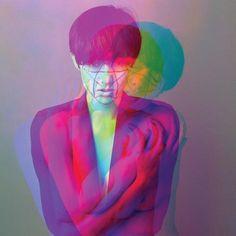 Colour overlay photographs by Jorge Oswaldo photo retouch, graphic design art Color Photography, Image Photography, Portrait Photography, Multiple Exposure, Double Exposure, Pink Lila, Glitch Art, Art Graphique, Art Plastique