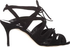 Manolo Blahnik Netochka Caged Sandals at Barneys New York