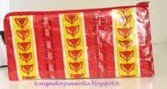 Kangaskorjaamolla: Kynäpenaali karkkipapereista