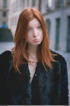 Anastasia Ivanova Moncler Gamme Rouge - Paris Fashion Week PAP AW15
