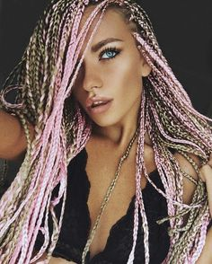 Hair Braiding Styles For White People Micro Twists Hairstyles  300Px  Braids And Twist  Pinterest