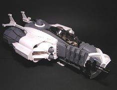 R14 Bulldog Class Heavy Fighter by Sven Junga, via Flickr