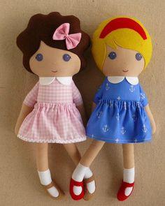 Two friends dolls