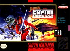 Super Star Wars Empire Strikes Back #SuperNintendo #Snes