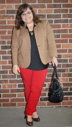 Style Cassentials: Fashion Favorites: Red Pants 7 Ways