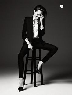 visual optimism; fashion editorials, shows, campaigns more!: untamed heart: angelina jolie by hedi slimane for us elle june 2014