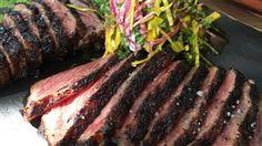 Bœuf de Kobe et salade de betteraves au chimichurri