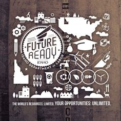 Future Ready: Infographics by Jennie Myers, via Behance
