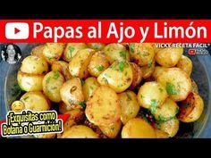 PAPAS AL AJO Y LIMON | Vicky Receta Facil - YouTube