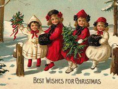 Risultati immagini per christmas  vintage