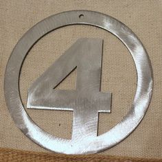 Fantastic Four Ornament by StarBeeMetalCraft on Etsy
