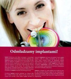 """Zapraszamy do lektury Wydania specjalnego do Zwierciadła 3/2014 """"Piękno w zdrowiu"""" w którym Irmina Materna dzieli się swoją wiedzą na temat odmładzania w stomatologii, a Michał Zmorzyński opowiada o implantach. http://www.declinic.pl/piekno-zdrowiu-zwierciadlo/"""