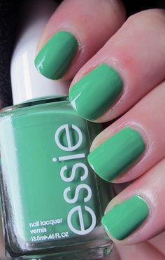 Essie Mojito Madness - my fav nail polish color for the summer.