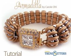 Sculpted Twist Bracelet Tutorial by Carole Ohl by openseed on Etsy