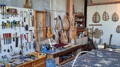 Construction of folk & traditional stringed instruments
