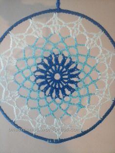 Bildergebnis für mandalas tejidos al crochet patrones Crochet Dreamcatcher Pattern Free, Crochet Mandala Pattern, Doily Patterns, Crochet Squares, Crochet Doilies, Crochet Patterns, Free Crochet Bag, Love Crochet, Knit Crochet