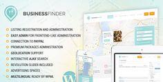 Business Finder – Themeforest Directory Listing WordPress Theme