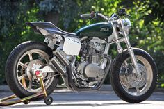 Yama-wow! The latest custom XS from Mule Motorcycles packs a 750cc punch.