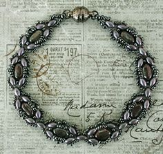 Linda's Crafty Inspirations: Free Beading Pattern: Mary Ann Bracelet