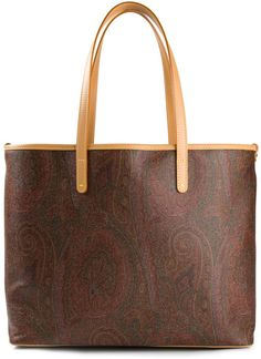 Etro Paisley Print Tote in Multicolor
