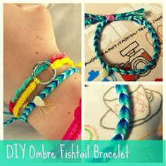I love friendship bracelets. They're one of the first crafty things that I ever learnt to make as a kid and they make me rather nostalg...