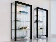 Glass Italian Showcase Miami by Tonin Casa - $6,175.00