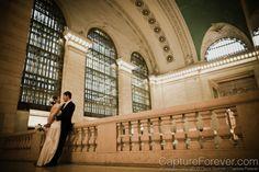 Grand Central Terminal wedding | ... : John + Carol | Grand Central Station & Central Park, New York City