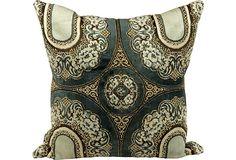 Moroccan Textile Pillow on OneKingsLane.com Vintage Market, Bedroom Styles, Decoration, Vintage Furniture, Moroccan, Cowboy Boots, Textiles, Pillows, Antiques